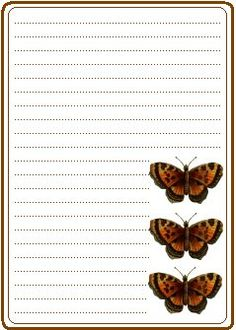 Tiger Butterfly printable but unable to add text for email