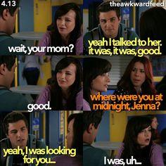 "#Awkward 4x13 ""Auld Lang Party"" - Matty, Jenna and Tamara"
