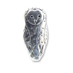 Hey, I found this really awesome Etsy listing at https://www.etsy.com/listing/152327029/sterling-silver-barn-owl-pin