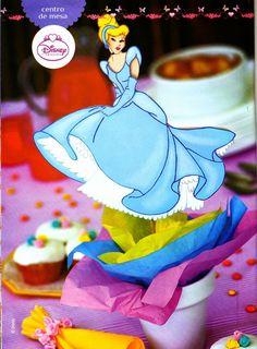 Souvenir para fiestas de princesas