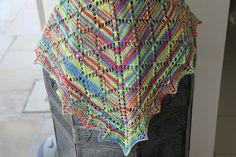 Ravelry: Lantern Shawl pattern by Louise Atkins