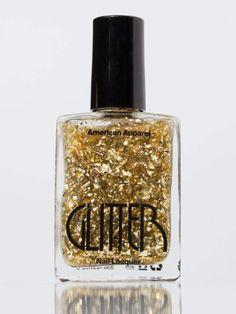 American Apparel Glitter Nail Polish...    $6.00