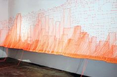 9 Eerily Beautiful String Art Installations