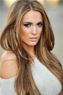 Dark Hair With Caramel Highlights - Bing Images