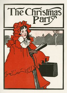 The Christmas Party, from Evelyn Sharp's, 'The Child's Christmas', London: Blackie and Son, [1906]