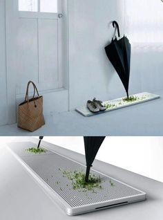Porta ombrelli riciclo acqua