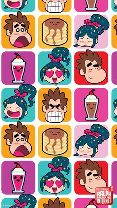 Movies Wallpaper for iPhone from disney.ph Ralph Breaks the Internet Mobile Wallpapers Nemo Wallpaper, Disney Phone Wallpaper, Trendy Wallpaper, Wallpaper Iphone Cute, Colorful Wallpaper, Disney Pixar, Disney Memes, Disney Animation, Disney Art