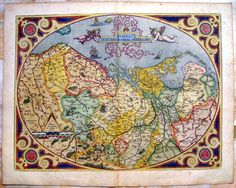 Light vintage map collage wallpaper muralswallpaper map abraham ortelius 1587 original antique map the netherlands holland belgium europe geography mapping cartography illustration gumiabroncs Gallery