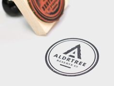 ALDRTREE Stamp designed by Ben Suarez. Connect with them on Dribbble; the global community for designers and creative professionals. Logo Deer, Badge Icon, Type Illustration, Typography Logo, Logos, Coffee Branding, Design Graphique, Coffee Design, Logo Design Template