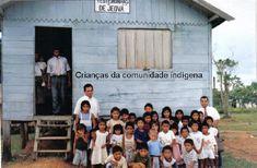 Salão do Reino - Igapenu (reserva indígena) Brasil