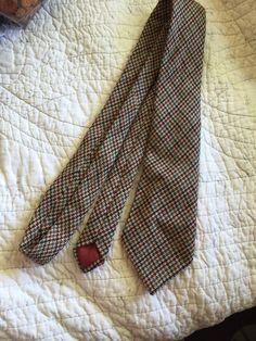 Central Tie Company Ireland 100 Wool Men's Necktie Nice Vintage | eBay