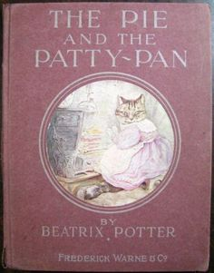 1905-FIRST-EDITION-Beatrix-Potter-The-Pie-and-the-Patty-Pan