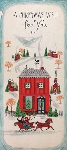 ~ vintage christmas cards ~