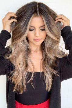 Brown Hair Balayage, Brown Blonde Hair, Light Brown Hair, Hair Color Balayage, Brunette Hair, Blonde Balayage, Dark Brown, Black Hair, Ombre Hair