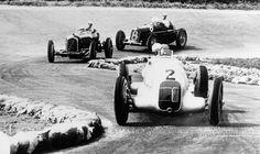 frenchcurious - Rudolf Caracciola (Mercedes-Benz W25) vainqueur du...