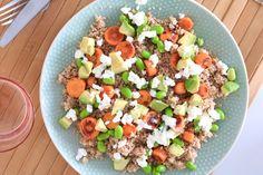 Couscoussalade met wortel en edamame – SKINNY SIX