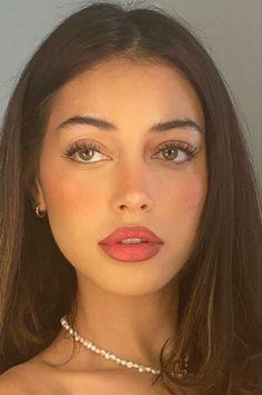 Cute Makeup, Pretty Makeup, Makeup Inspo, Makeup Inspiration, Skin Makeup, Beauty Makeup, Natural Makeup Looks, Easy Makeup Looks, Natural Everyday Makeup
