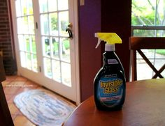 Spring Cleaning Tips for Cleaning Windows and Patio Doors Window Cleaning Tips, Cleaning Hacks, Cleaning Supplies, Invisible Glass, Window Cleaner, Patio Doors, Spring Cleaning, Spray Bottle, Science