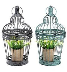 Flower cage ISFUGL steel assorted - 6451100