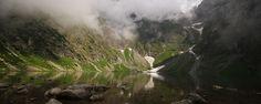 Black Lake below Mount Rysy, Tatra Mountains