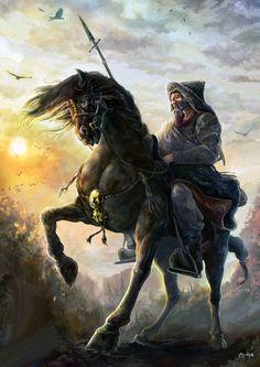 Mongol heavy lancer