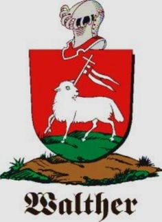 Walther 2 family Crest Walther 2