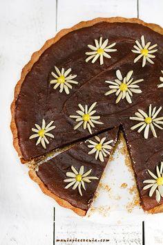maniapieczenia: Mazurek z solonym karmelem i czekoladą