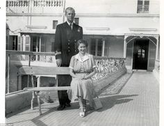 1950: When Philip was posted to Malta as a naval officer from 1949 to 1951, the Queen spent several months by his side, staying at the Villa Guardamangia