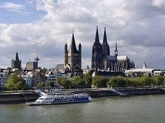 Altstadt und Dom Köln