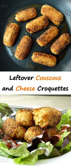 How to use up leftover couscous (or rice, or quinoa!)