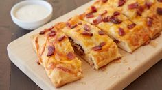 Chicken and Bacon-Stuffed Crescent Bread