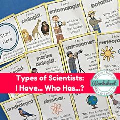 This is a fun way to introduce students to different types of scientists. Also included: practice with Greek roots and syllabification. Perfect decoding practice for older students! More Than a Worksheet $