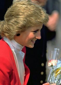 3 February 1989 Diana visited the paediatric Aids unit at the Harlem Hospital, New York