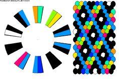K4240 ~ 20 strand 9 colour kumi pattern