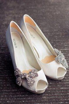 Carmen By Menbur Off White Wedding Shoes W/rhinest Wedding Shoes $132