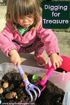 Digging for Treasure Activities for Toddlers http://www.sunshinewhispers.com/2015/03/digging-for-treasure-activities-for-toddlers/