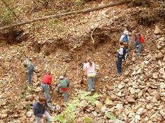 Gems | Minerals | Gold | Quartz | Gem Mining | NC Blue Ridge Mountains | Blue Ridge National Heritage Area