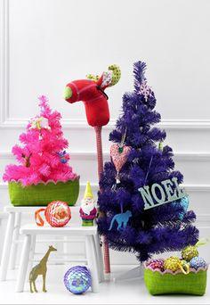 Decoração de Natal colorida e brilhante