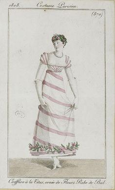 1808, costumes parisiens, SceneInThePast