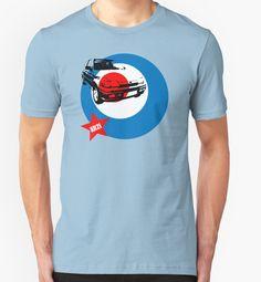 Fiesta XR2i Classic Car by ImageMonkey #classiccars #Tshirts #mensclothing #britishcars #fiesta #xr2i