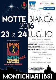 Notte Bianca a Montichiari http://www.panesalamina.com/2016/49541-notte-bianca-a-montichiari.html