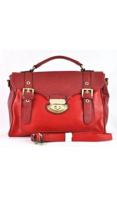 There is nothing like a red handbag. I love them!