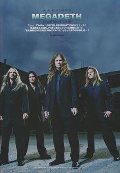 Megadeth (Jun/2007/Burrn!)