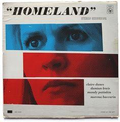 Vintage Album Cover Art Inspired by 'Homeland'