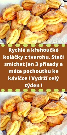 Czech Recipes, Sweet Desserts, Pretzel Bites, Ham, Cake Decorating, Food And Drink, Easy Meals, Gluten Free, Sweets
