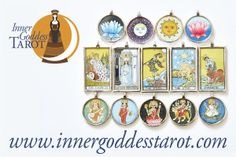 Gorgeous Tarot and Goddess Jewellery! Visit me and shop at www.innergoddesstarot.com