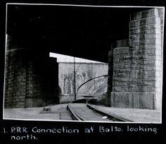 PRR interchange at Baltimore Yard