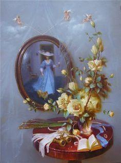 <<Artist Valentin Rekunenko (Ukraina)>> Artist Valentin Rekunenko born in 1955 in the town of Tokmak of Zaporizhzhya region. In 1974 he graduated from art school in Dnepropetrovsk. Ukraine.