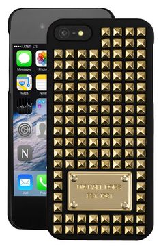 MICHAEL Michael Kors Studded iPhone 5 Case available at #Nordstrom