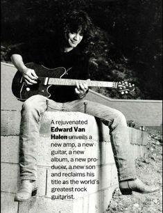 Rock N Roll Music, Rock And Roll, Van Hagar, You Really Got Me, Talent Quotes, Best Guitarist, Pin Up Photos, Old School Music, Eddie Van Halen